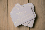 Letterpress or Foil Stamped Business Cards