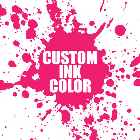Custom Letterpress Ink Color
