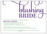 Blushing Bride Bridal Shower