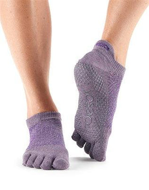 ToeSox Low Rise - Full or Half Toe - Opal