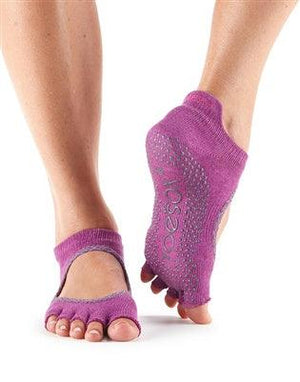 ToeSox Ballarina - Full or Half Toe - Mulberry