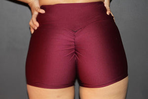 RARR Designs Fold Over Gym Shorts - Fig