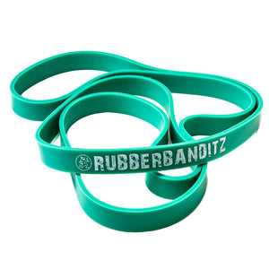 "Rubberbanditz 41"" Heavy Duty (7/8"") Band - Neon Cobalt"