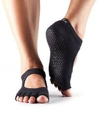 ToeSox Ballarina - Full or Half Toe - Black