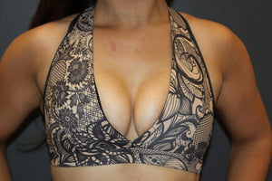 RARR Designs Plunge Sports Bra - Passion Lace