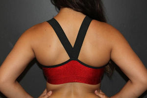RARR Designs V Neck Sports Bra - Sparkle - Various Colours