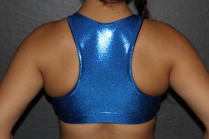 RARR Designs High Neck Sports Bra - Sparkle - Various Colours