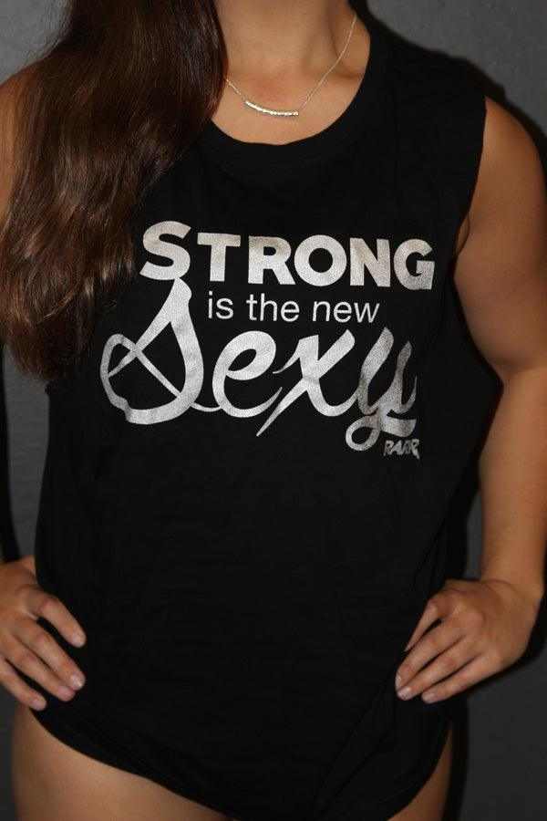RARR Designs Tank - Strong is the New Sexy