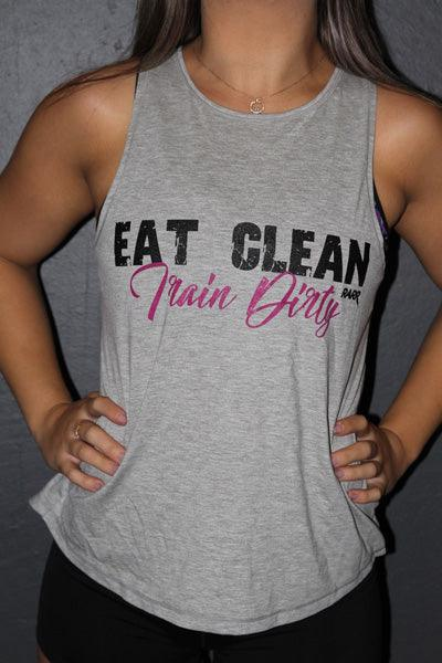 RARR Designs Tank - Eat Clean, Train Dirty