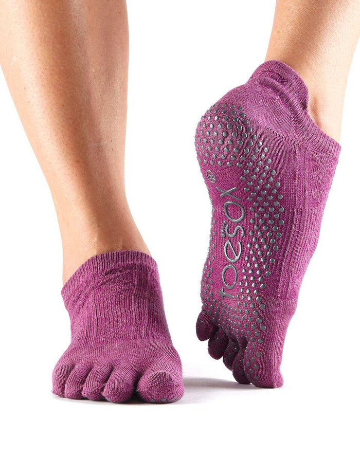 ToeSox Low Rise - Full or Half Toe - Violet