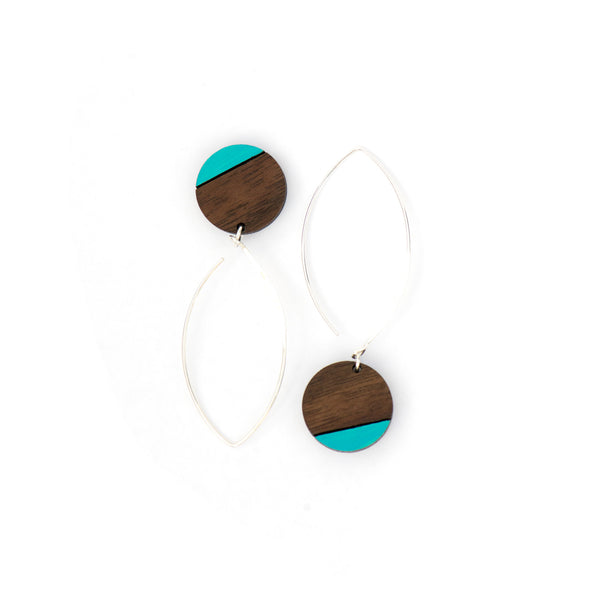 Big blue Pau Earrings