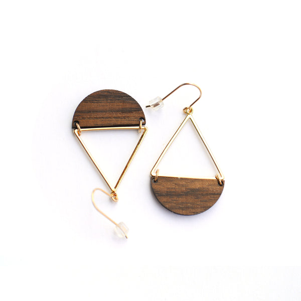 Anuenue Earrings- gold