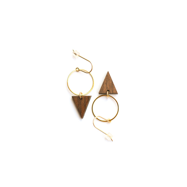 Mahalo Earrings- gold