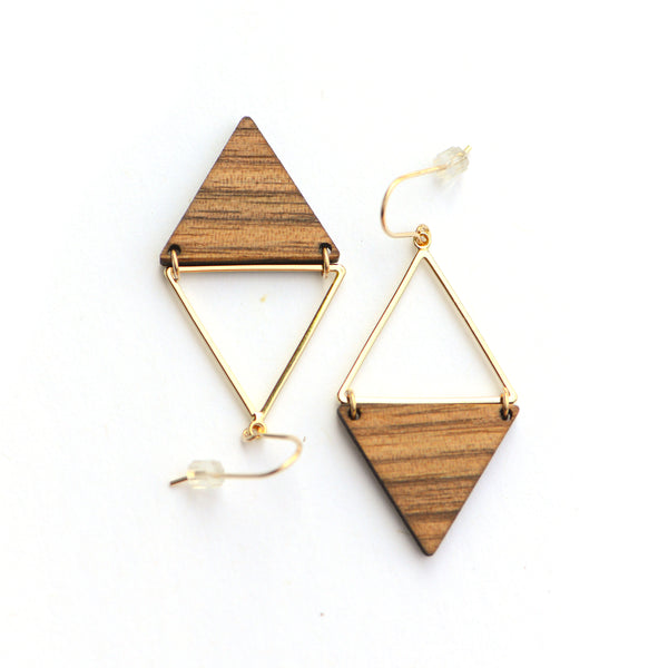 Pali Earrings Gold