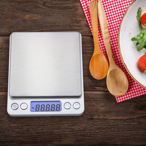 Kitchen Scale with High Precision LCD Display