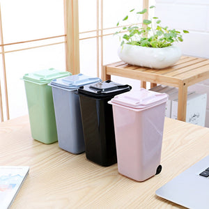 Trash Box for Desk Small Ashbin High Quality