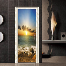 Load image into Gallery viewer, Tower Door Sticker Waterproof on the Doors Home