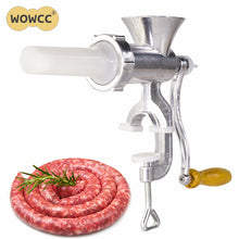 Load image into Gallery viewer, Manual Meat Grinder Sausage With Tabletop Clamp
