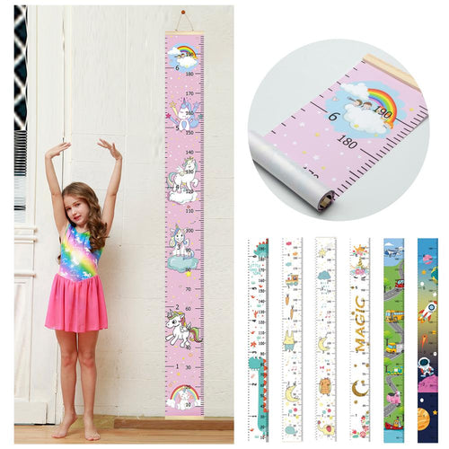 Growth Table Height Measurement Ruler for Kids Boys Girls
