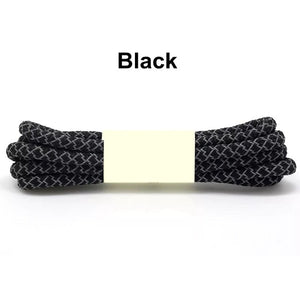 Black Fluorescent Shoe Lace