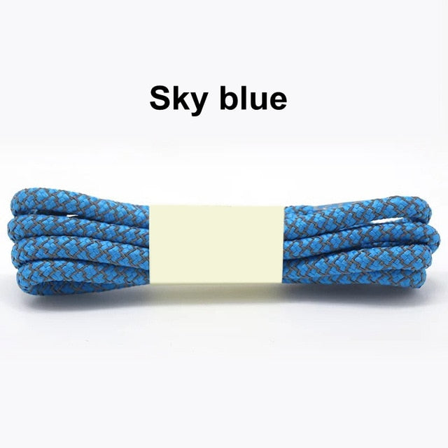 Sky Blue Fluorescent Shoe Lace