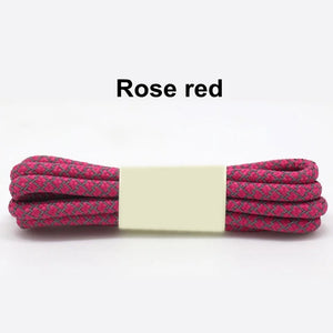 Rose Red Fluorescent Shoe Lace