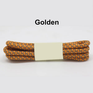 Golden Fluorescent Shoe Lace