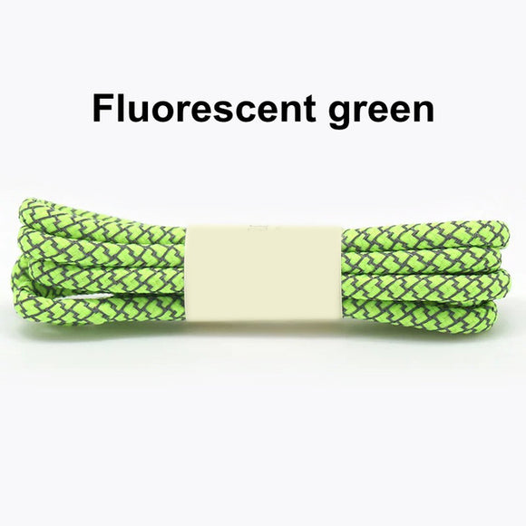 Green Fluorescent Shoe Lace
