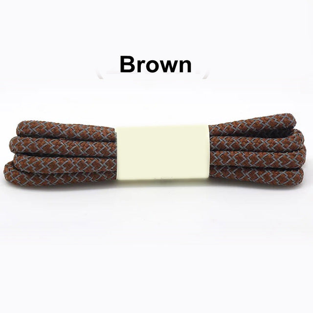 Brown Fluorescent Shoe Lace