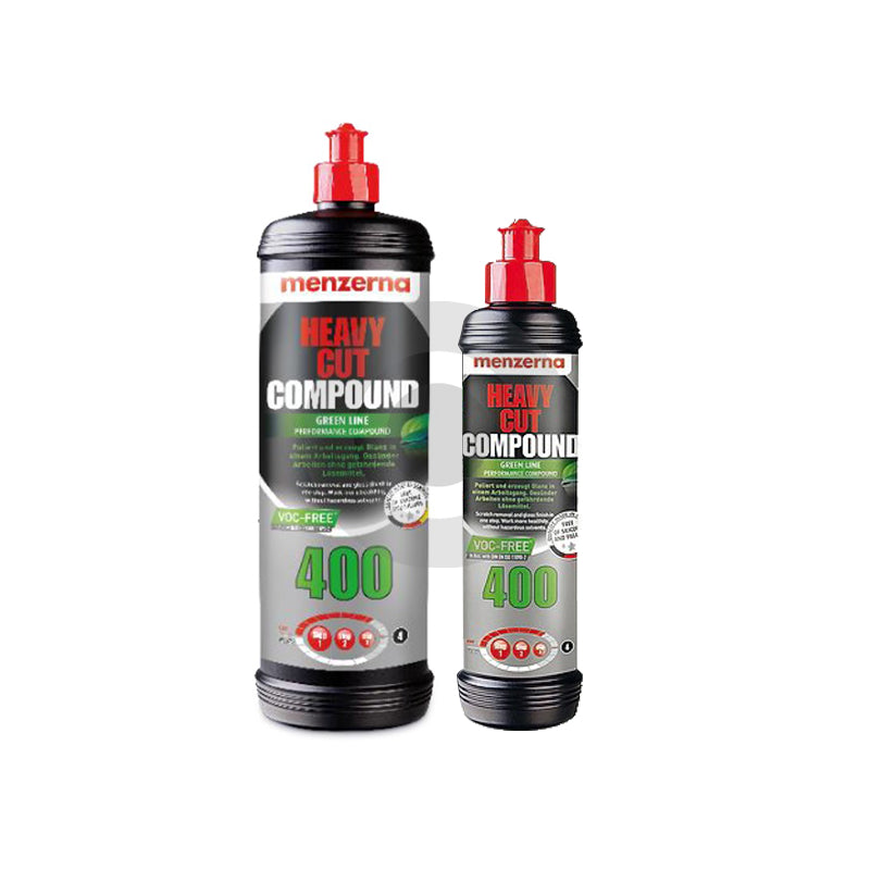 MENZERNA - HEAVY CUT COMPOUND GREEN LINE 400