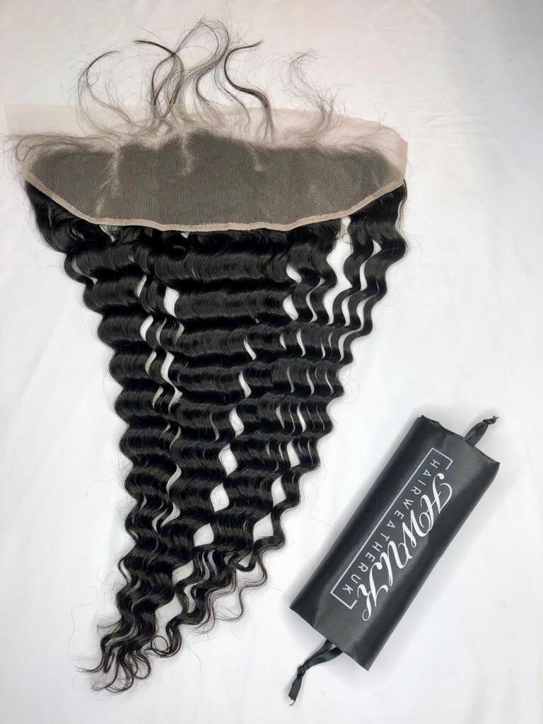 Luxe Deep Wave Transparent Frontal