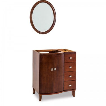 Mahogany Modern by Jeffrey Alexander - W/O top & bowl - 29""
