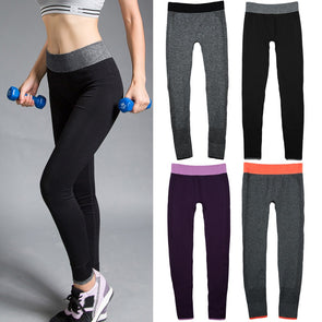 Fashion Women Yoga Sports Pants High Stretch Fitness Gym Running Trousers Exercise Leggings