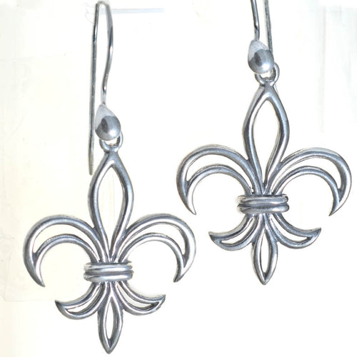 Calliope Street Fleur De Lis Earrings