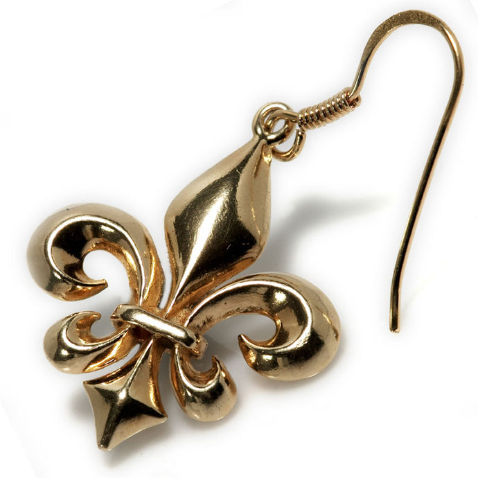 A Louisiana Fleur(Gold Plated Silver)