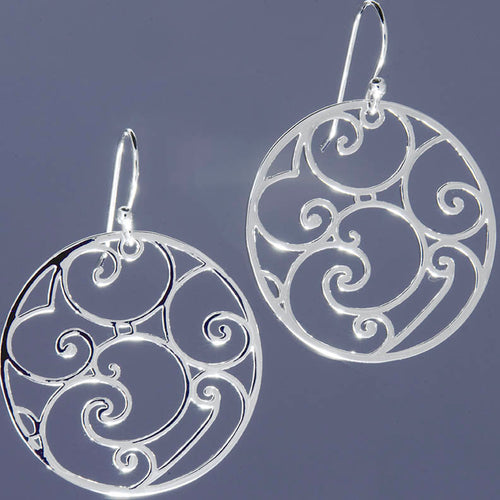 A Cabildo Wrought Iron Earring