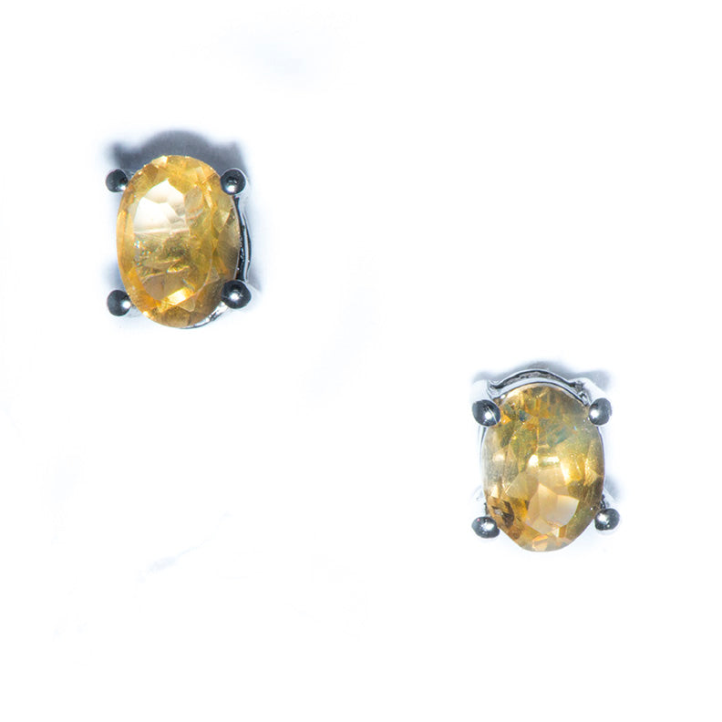 Citrene Post Earrings
