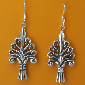 Jackson Square Fence Earrings