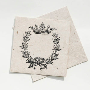 Wreath and Crown Card