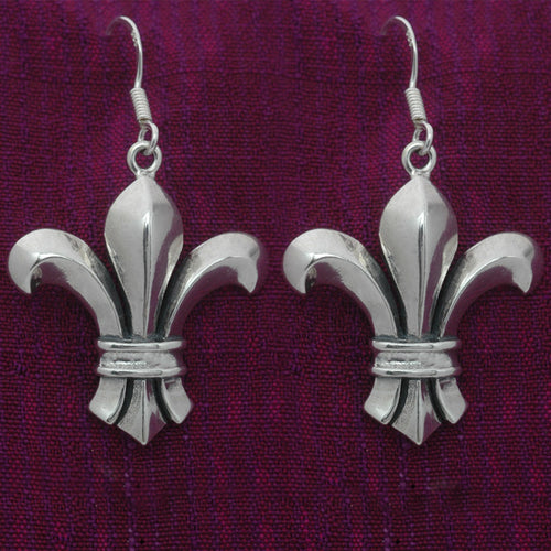 Broadway Fleur de lis earrings