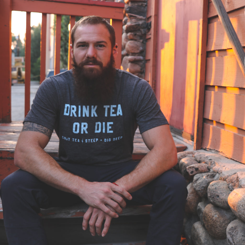 "Men's ""Drink Tea or Die"" Tee"