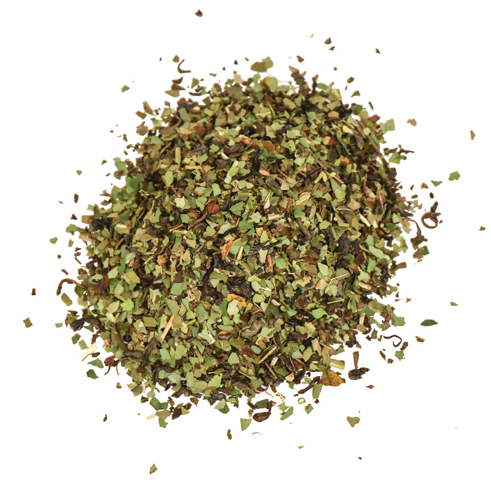 Mint Sane in the Membrane - Green Tea + Yerba Mate + Peppermint + Vanilla Extract