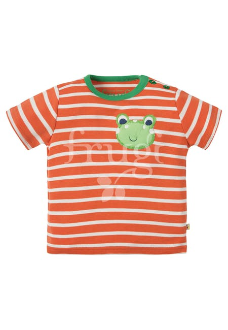 T-shirt sunshine warm orange Frog