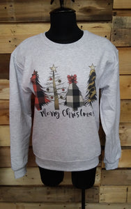 Christmas Tree Sweat Shirt T9361