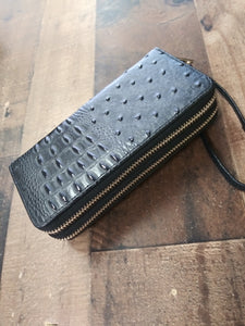 Wallet Crocodile Crock Alligator Print W020T