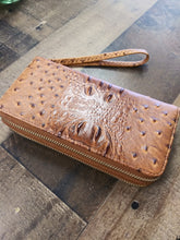 Load image into Gallery viewer, Wallet Crocodile Crock Alligator Print W020T