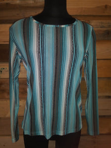 CT Serape Mesh Top