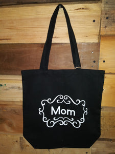 Tote Bags With Sayings Black Mom