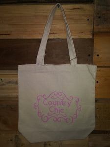 Tote Bags With Sayings Ivory Country Chic