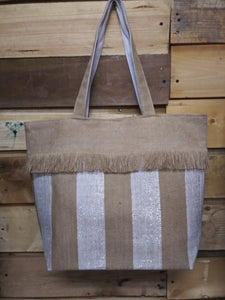Ruggine Basket Weave Tote
